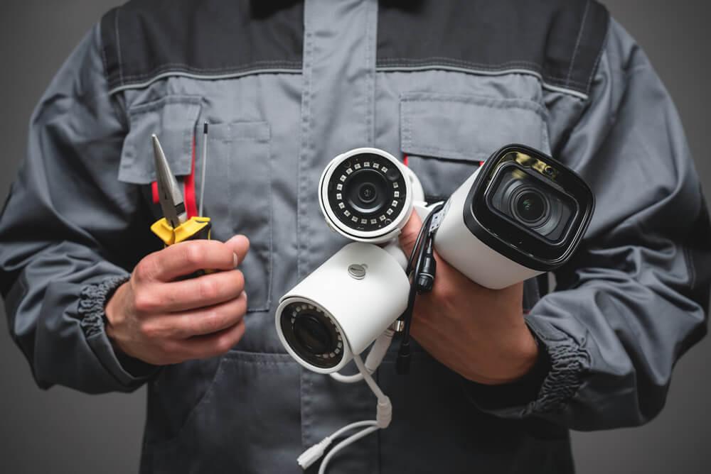 監視器鏡頭種類:槍型